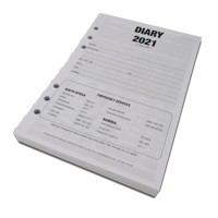 Add A5 Diary Refill to your Order