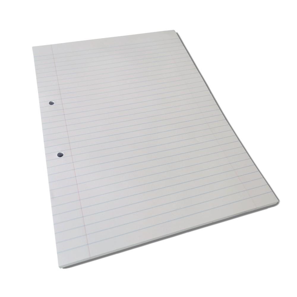 A4 Exam Pad Lined With 2 Holes