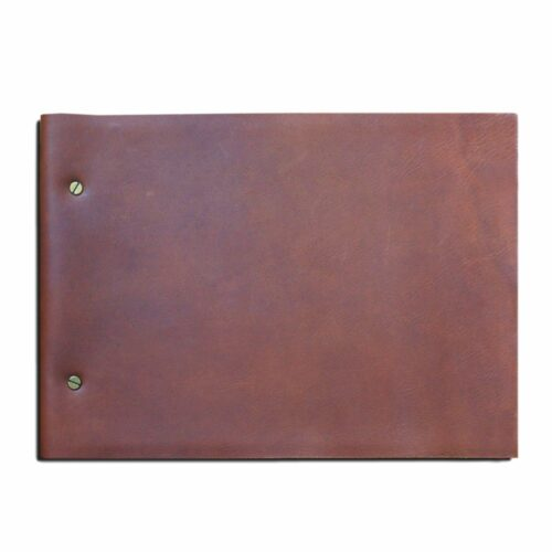 A4 Leather Journal with refillable pages