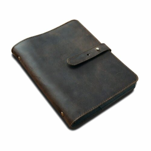 Leather Conference Folder Dark Brown Leather For Sale South Africa