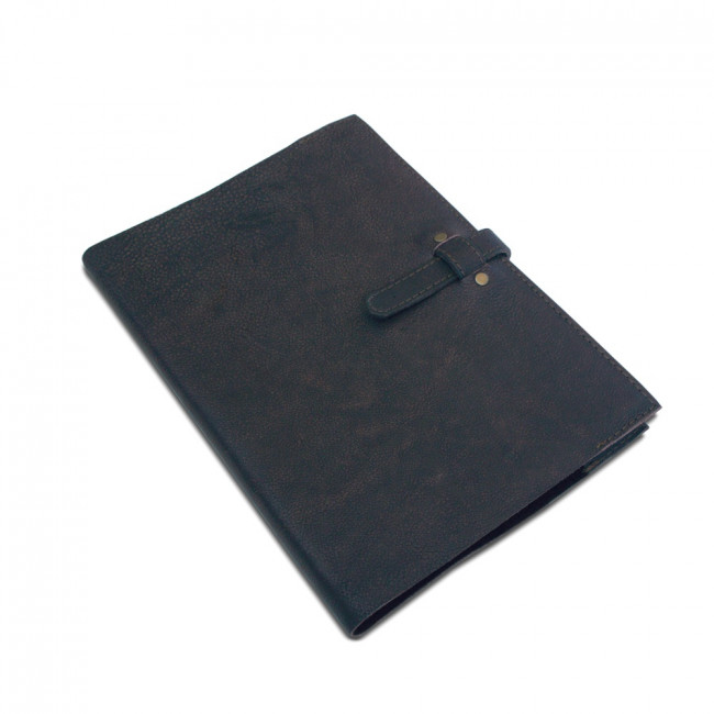 A4 leather slip cover to fit diary or sketch book