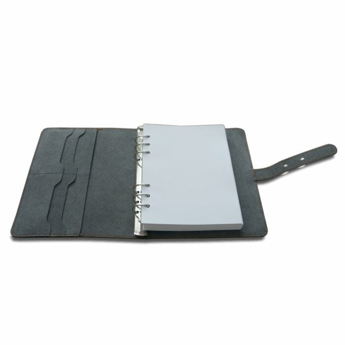 Leather Conference Folder with 6 ring binder